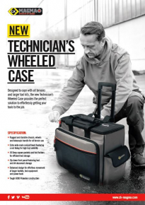 Let the New C.K Magma Technician's Wheeled Toolcase take the strain!