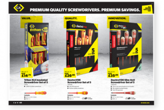 Screwdriver promotion
