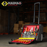 C.K Magma Technician's PRO Wheeled Case Makes Light Work of any Task!